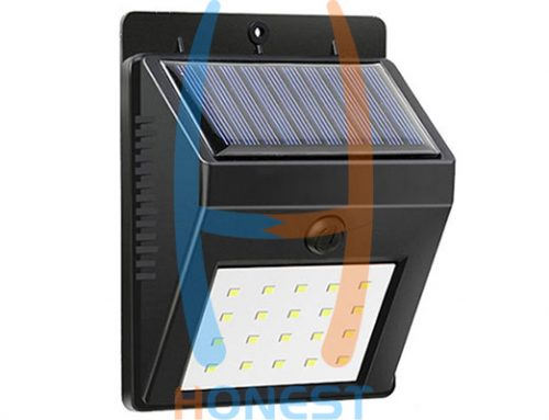 Integrated Solar Lamp